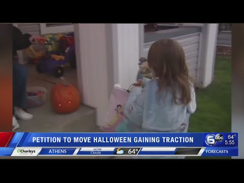 Michael J. - Should Halloween Be MOVED from Oct 31 to the LAST SATURDAY Of the Month?