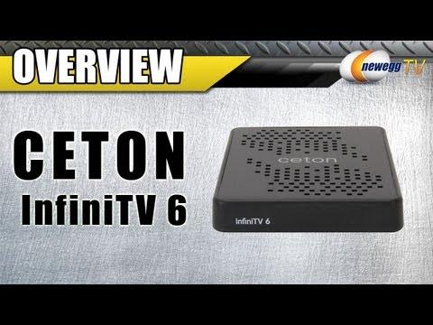Ceton 5504-DCT06EX-ETH InfiniTV 6 Ethernet Tuner - Newegg com