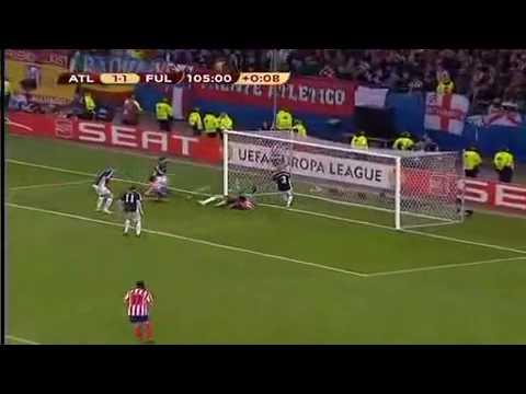 Atletico Madrid vs Fulham Europa League 09/10 Final