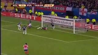 Atletico Madrid vs Fulham Europa League 09/10 Final