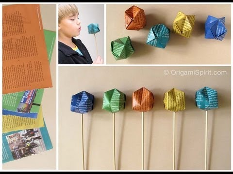 Types of Origami Bases  thesprucecraftscom