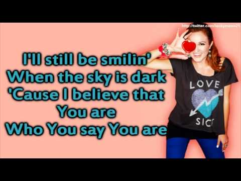 Britt Nicole - Who You Say You Are (Lyrics On Screen Video HD) New Christian Music Pop 2012