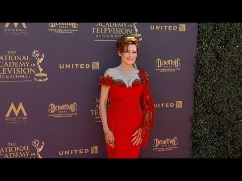 Carolyn Hennesy 2017 Daytime Emmy Awards Red Carpet