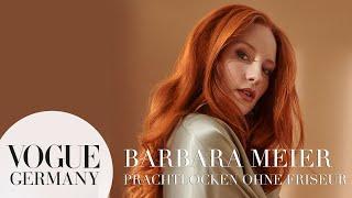 Vogue Präsentiert: Dyson Airwrap Hairstyler Mit Barbara Meier