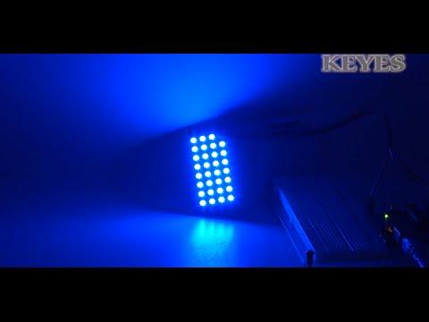 KEYES 2812 8*4 bit 32bit Full Color RGB LED Module (Red PCB)