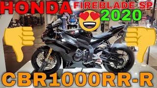 HONDA CBR1000RR-R FIREBLADE SP 2020 / Хонда сбр 1000сп1 фаерблейд 2020 года  СИБЕРР мотоцикл