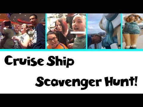 Scavenger Hunt on the Brand New MSC Seaside!! | Sea Cruisers Group Cruise Vlog [ep8]
