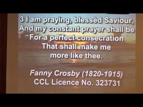 Ministry of Prayer, I Am Praying Blessed Savior