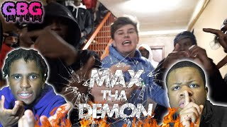 GREATEST WHITE RAPPER ALIVE!! Max ThaDemon - World War III (Reaction)