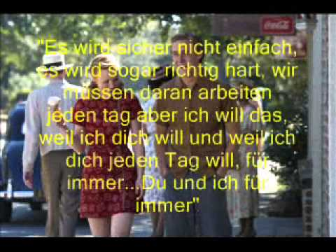 The Notebook Zitate