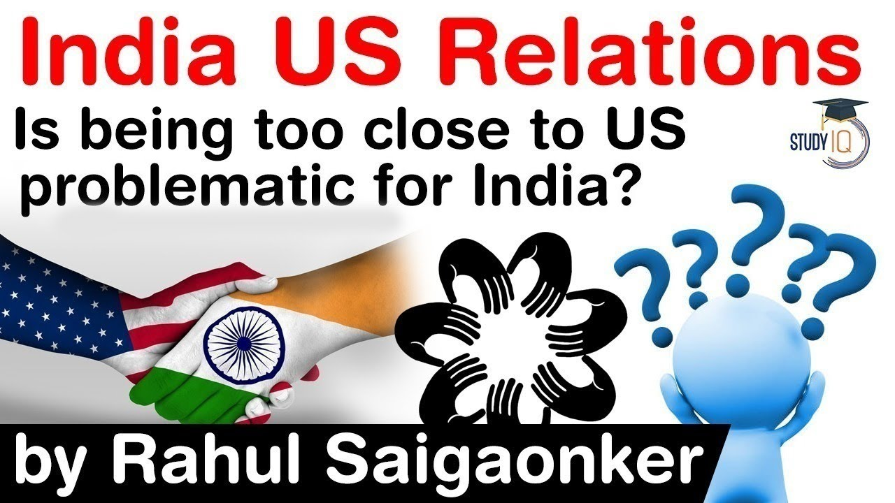 Download India US Bilateral Relations - Is being too close to USA problematic for India? #UPSC #IAS