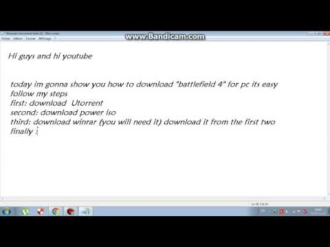 How To Download Battlefield 4  On Pc Full Version + Dlc(china Rising)