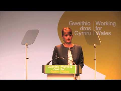 Leanne Wood  - Araith yr Arweinydd i'r Gynhadledd/ Leader's Speech to Conference 2014