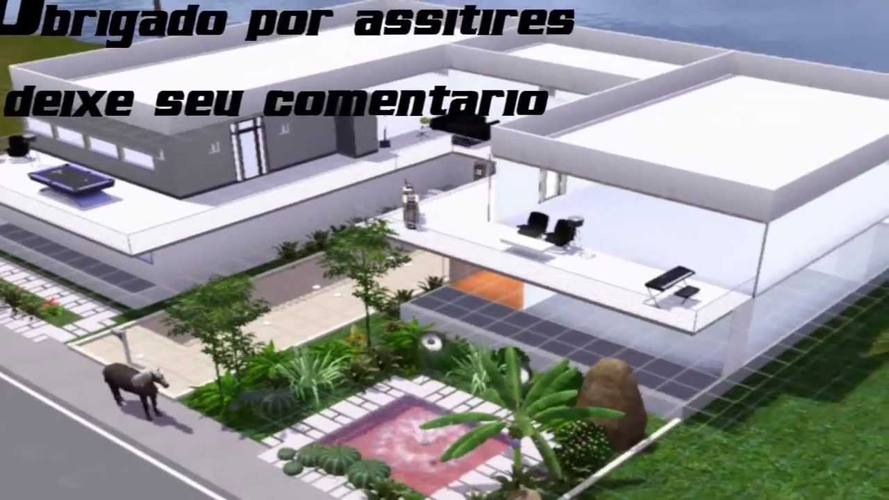 The sims 3 construindo outra casa moderna parte 1 youtube for Casa moderna los sims 3