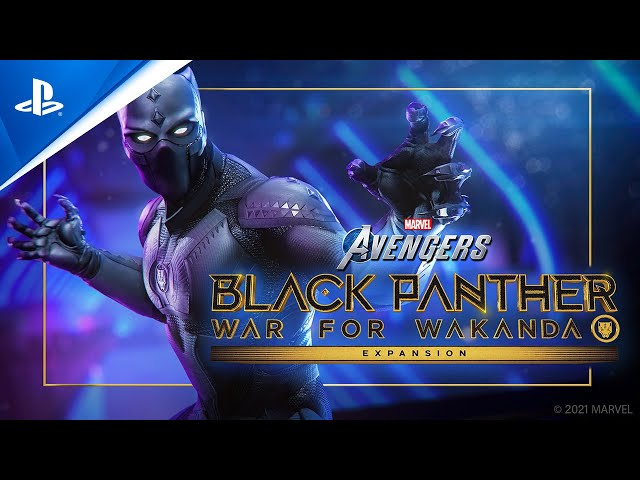 Marvel's Avengers Expansion: Black Panther - War for Wakanda Cinematic Trailer | PS5, PS4