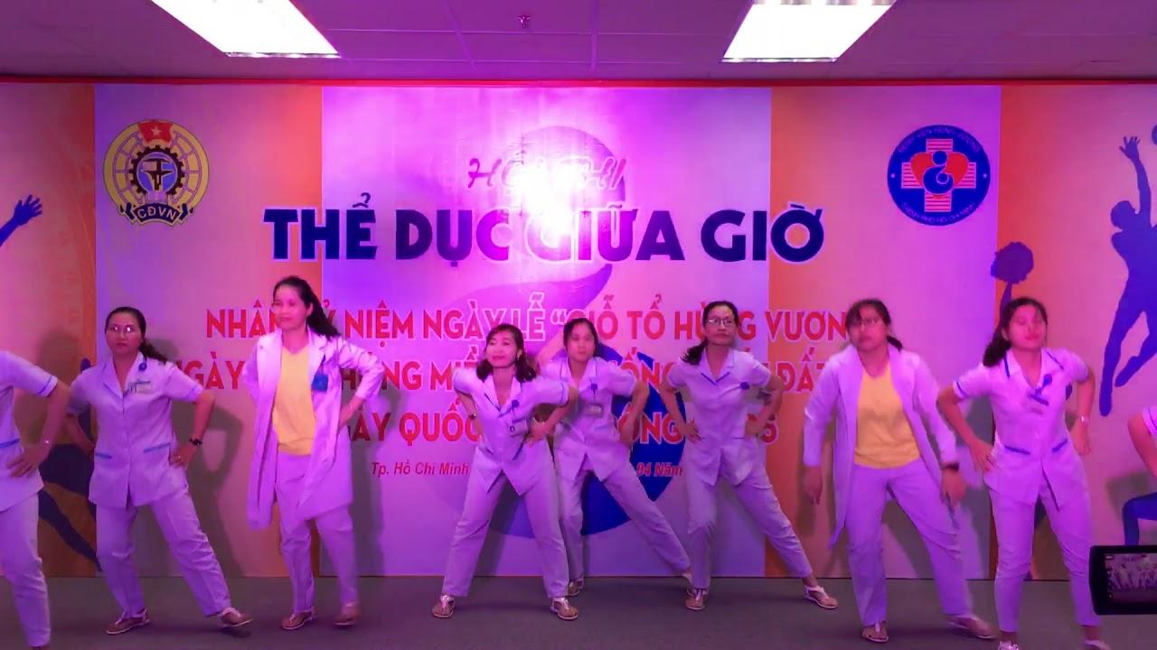 Bài Thi Nhảy Thể Dục Giữa Giờ – Bệnh Viện Hùng Vương