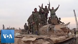 Syria's Army Enters Idlib Suburb in Rebel Stronghold