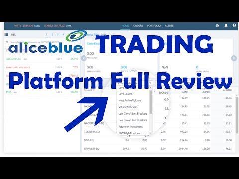 Best Trading Platform Review Discount Broker - Web Trading Platform - SP03