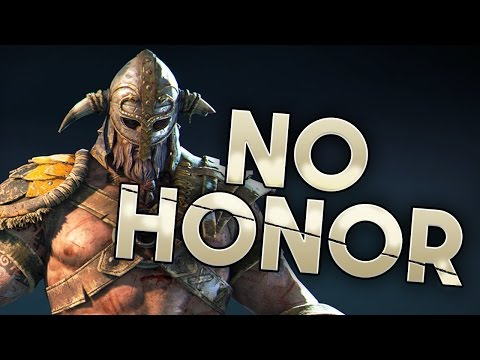 For Honor: No Honor