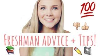 ♡ Freshman Advice + Tips ♡