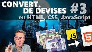 Générer la page côté client - Programmer un convertisseur de devises en HTML, CSS, JavaScript (3/4)