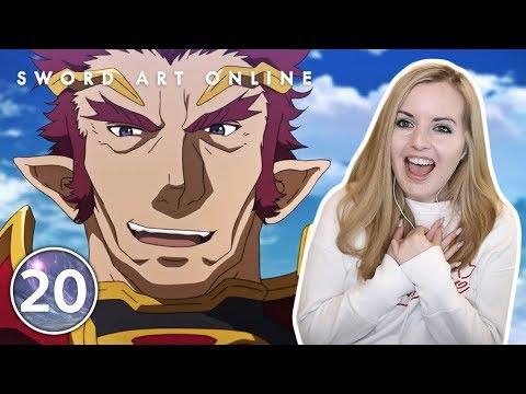 General Of The Blazing Flame - Sword Art Online Episode 20 Reaction
