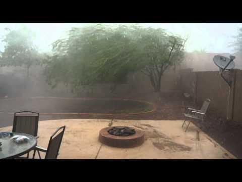 Huge Wind storm in Phoenix Arizona on July 31st 2012