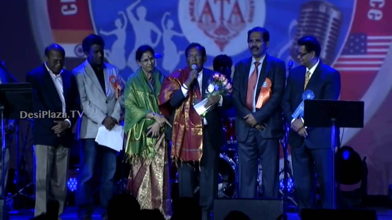 Felicitation to Dr.& Mrs.Devaiah on Final Day - ATA Convention 2016