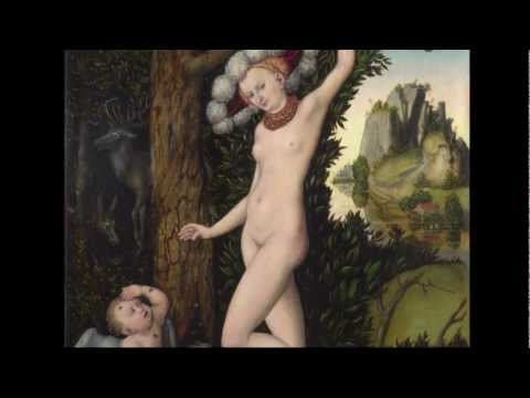 Lucas Cranach the Elder: 'Cupid Complaining to Venus'   Paintings   The National Gallery, London
