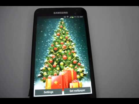 Merry Christmas Tree 2016 - Best Android Live Wallpaper App - Happy Holidays