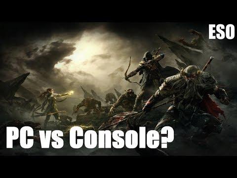 Elder Scrolls Online Xbox One X Vs Pc