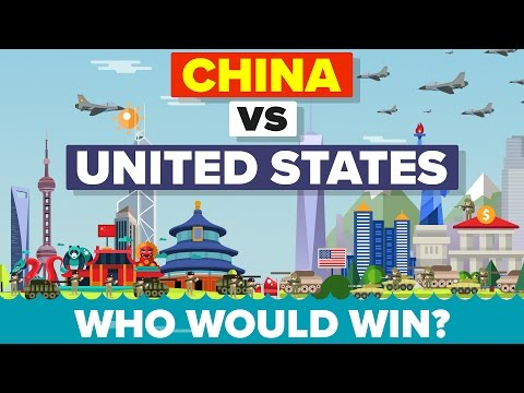 China vs United States (USA) 2016 - Who Would Win - Military Comparison 💣