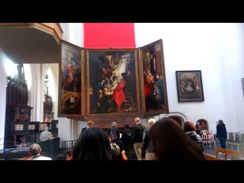 アントワープ⑰ Antwerpen 大聖堂 ルーベンスの絵