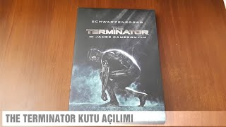 THE TERMINATOR DVD FİLM KUTU AÇILIMI