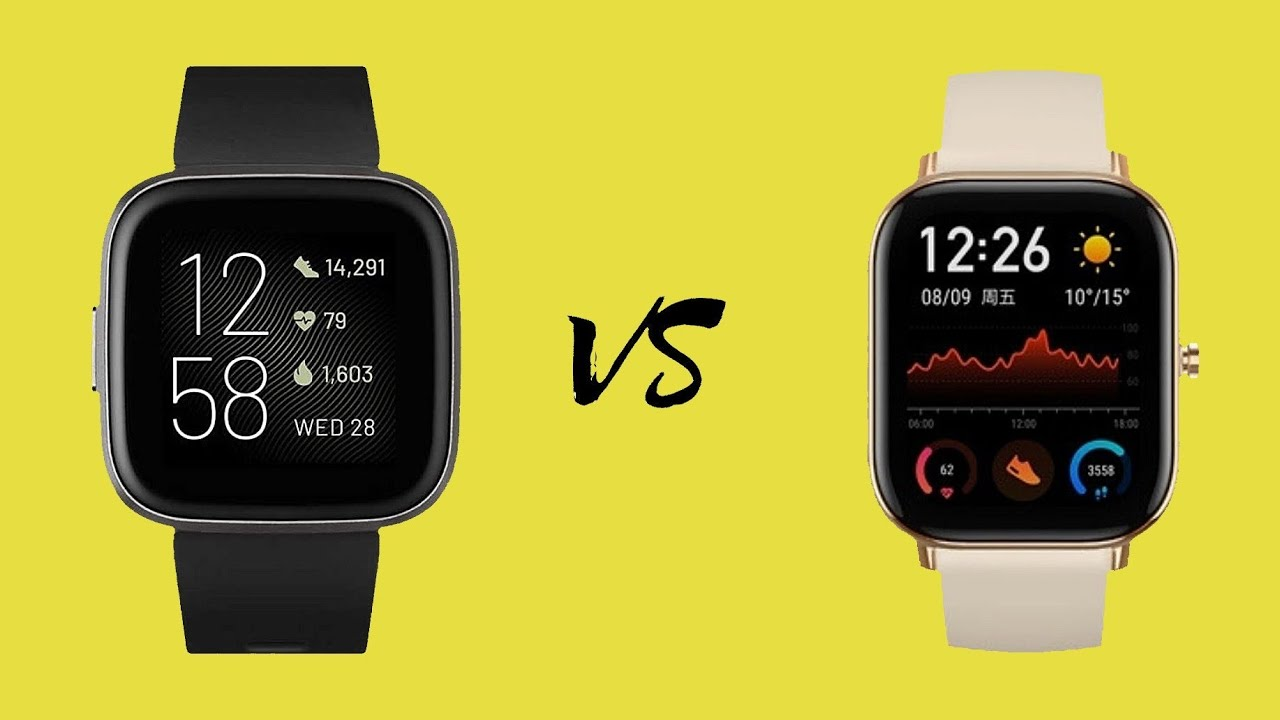 Fitbit Versa Lite Vs Amazfit Gts Vs Mi Band 3 Comparison Feature By Feature Youtube