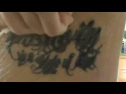 Aftercare Tattoo Instructionstatu Derm Tatu Derm Live Removal