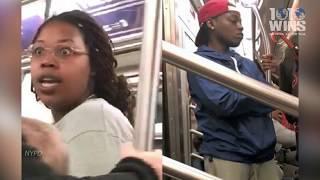 Cops: Mom beaten, choked on subway