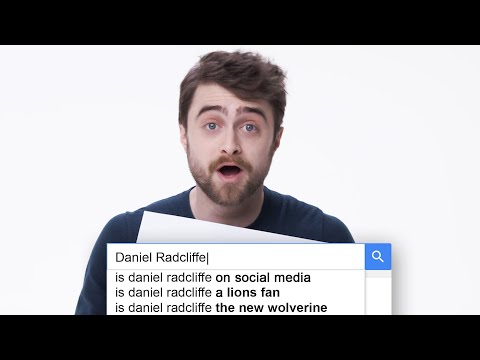 Daniel Radcliffe Works As Google Search