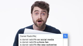 Daniel Radcliffe Answers the Web\'s Most Searched Questions | WIRED