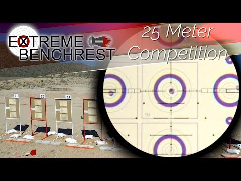 25 Meter Airgun Benchrest @ Extreme Benchrest