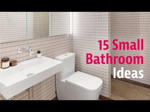 15 Small Bathroom Ideas