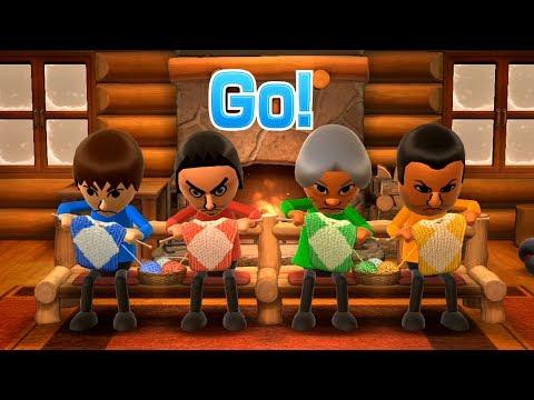 Wii Party U - All Quick Reflex Minigames
