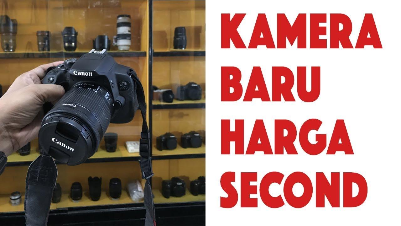 Toko Kamera Beli Kamera Dslr Canon 700d Online Harga Murah Kualitas Baru