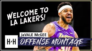 JaVale McGee DOMINANT Full Offense Highlights 2017-2018 NBA Season - Welcome to LA Lakers!