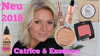 Neuheiten von Catrice und Essence I Sortimentsumstellung 2018 I Drogerie Makeup Look I Mamacobeauty