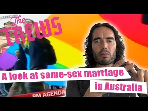 A Look At Same-Sex Marriage in Australia: Russell Brand The Trews (E335)
