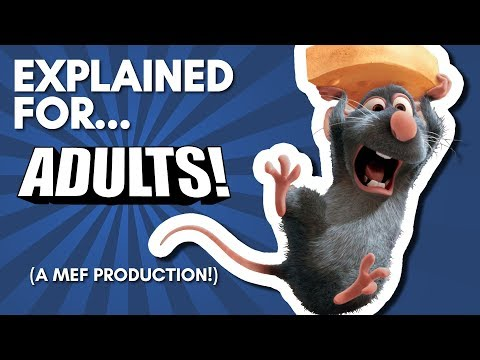 Ratatouille Explained For Adults! (A Comedic Commentary!)