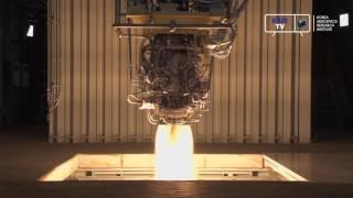 [KARI]한국형발사체 7톤급 엔진 2호기 580초 연소시험 영상 이미지