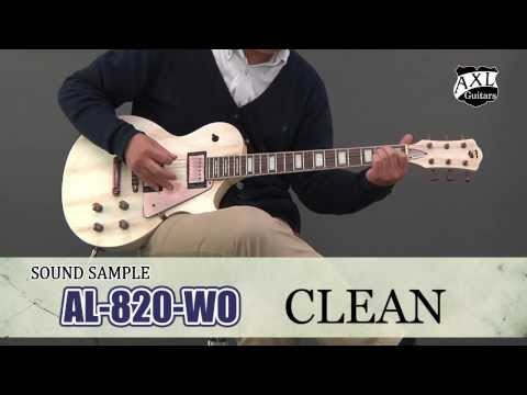 AXL GUITARS  / エレキギター AL-820-WO