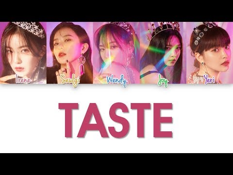 Red Velvet - Taste Lyrics (Color Coded Han Rom Eng)